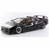 Miniatura De Lamborghini Diablo Sv Preta 1:18 Maisto 31844