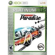 Burnout Paradise Xbox 360 Nuevo