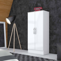 Armário Multi Uso 02 Portas Branco Móveis Briz