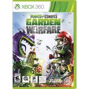 Jogo Lacrado Plants Vs Zombies Garden Warfare Para Xbox 360