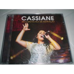 Cd Cassiane- Um Espetáculo De Adoração -frete R$6,00(novo)