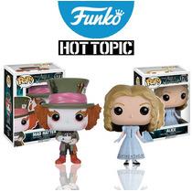 Sombrerero Loco Mad Hatter Y Alicia Alice Disney Funko Pop