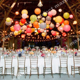 Lanternas De Papel Para Decoração De Festas E Eventos