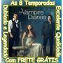 Serie The Vampire Diares Todas As Temporadas + Frete Grátis