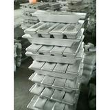 Aluminio En Lingotes De 10 Y 15 Kilos Blando Y Duro