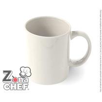 Taza Promocional Blanca Terminado Brillante Ceramica
