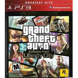 Juego Ps3 Gta Grand Theft Auto: Episodes From Liberty City