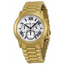 Reloj Michael Kors Cooper Dorado Cronógrafo Mujer Mk5916