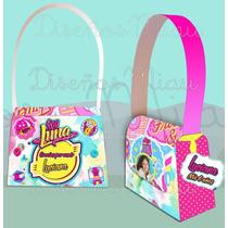 10 Carteritas Soy Luna Golosineras Personalizadas Souvenir