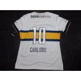 Camiseta Boca Juniors 2015 Alternativa #10 Carlitos