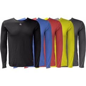 Camisa Termica Kanxa Com Proteção Uv + Uvb Ft 50 Bactericida e109102c33c91