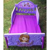 Cama Transición Princesa Sofia (detalle En El Sticker)