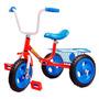 Triciclo Con Canasto Y Ruedas Macizas Art 575   Toysdepot