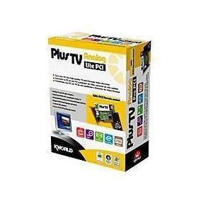Sintonizadora Tv Y Radio Fm Kworld Plustv Pci - C/ Control