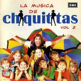 Chiquititas Cd Vol. 2 Romina Yan Cris Morena Usado