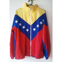 Campera Chaqueta Tricolor De Venezuela