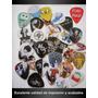Plumillas / Puas Guitarra Personalizadas Hd Set De 10 Piezas