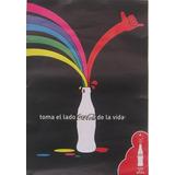 Afiche Conmemorativo 125 Años Coca Cola Colombia