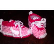 Zapatillas Nike Crochet Bebe Nena