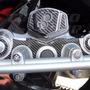 Adesivo Protetor Carbon 3d Mesa + Ignição Moto Honda Xre 300