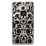 Capa Case Capinha Samsung J3 - Arabesco Flores