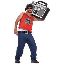 80 Hip Hop Home Boy Halloween Para Adultos Traje De Tamaño