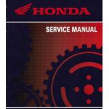 Manual De Serviço Honda Nx 400i Falcon - 2012 - 2013