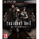 Resident Evil Remastered Playstation 3 Digital