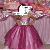 Disfraz De Barbie O Princesa De Alta Costura