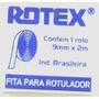 Fita Letraset Rotex Autoadesiva P/ Rotulador Braile 12mmx2m