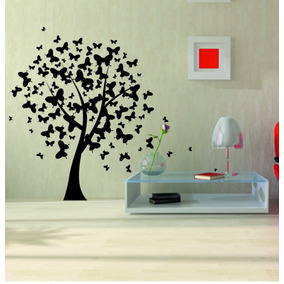 vinilos decorativos de pared arboles y florales regalo