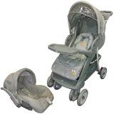 Carrinho De Bebê C/ Bebe Conforto Baby Style