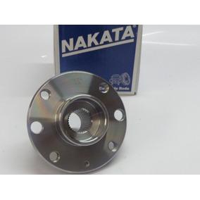 2 Cubo Roda Dianteiro E 2 Rolamentos Santana Nkf8024 Bah0036