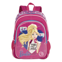 Mochila Escolar Costas Infantil Barbie Menina 17x 64750 G