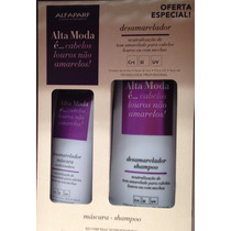 Alta Moda Kit Desamarelador Shampoo + Máscara Alfaparf