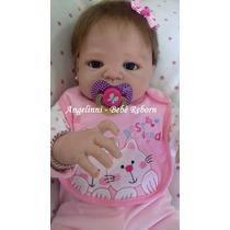 Bebê Reborn Rebecca Silicone Pronta Entrega! Molde Victória