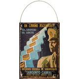 Cartel Chapa Escuela De Suboficiales Sargento Cabral M359