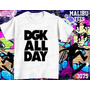 Camisetas E Baby Look Skate Dgk All Day Urbano City Radical