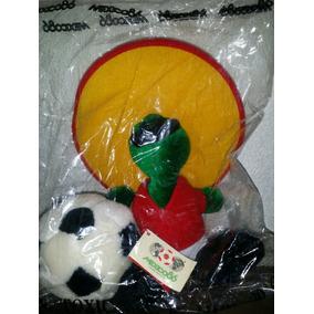 Mascota Pique Mundial Mexico 86 De25cm 100% Original Y Nuevo