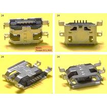 Conector Micro Usb V8 Centro Carga Htc Nokia Sony Tablet -24