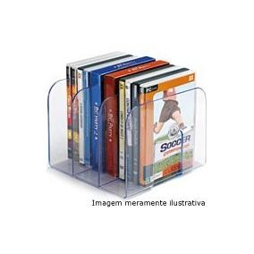 Suporte P/livros Cristal Transparente Waleu