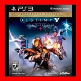 Destiny: The Taken King - Legendary Edition Ps3 No Disco !!!