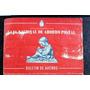 Antiguo Boletín. Caja Nacional De Ahorro Postal. Junio 1953