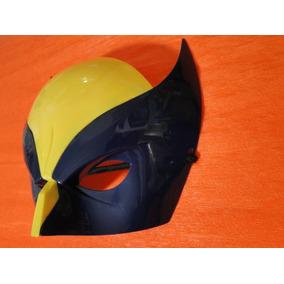 Mascara Infantil Volverine Wolverine Festa Fantasia Vingador