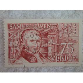 Estampilla Conmemorativa 200 Años Nacimiento Samuel Owen