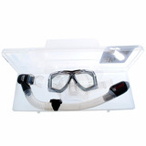 Kit De Mergulho Diamante Seasub Mascara E Snorkel