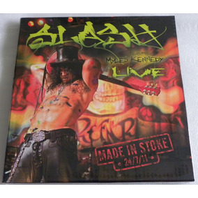 Slash Made In Stoke 3 Lp Box Red Yellow White Guns N Roses
