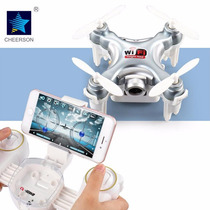 Micro Mini Drone Wifi Ao Vivo Com Camera Controle Cx10wd-tx