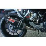 Escape Competicion R72 Carbono Ktm Duke 200/390 En Motodelta