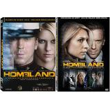 Homeland 1ª E 2ª Temporadas Completas - Kit 8 Dvds Novo